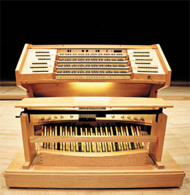 Bridgewater Hall organ console