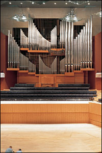 Bridgewater Hall organ pipes